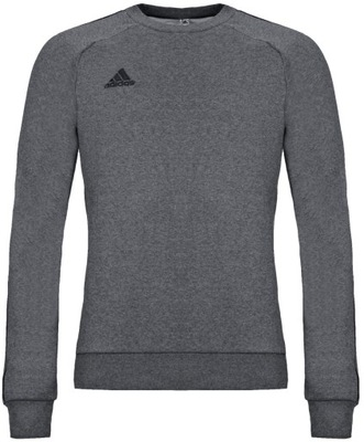 Adidas Bluza Męska Bawełniana Wkładana Szara
