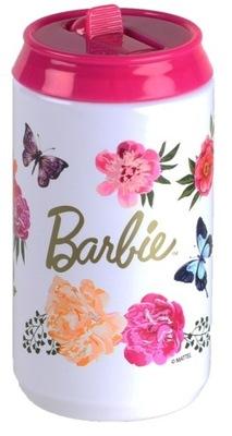 PUSZKA TERMICZNA Barbie BIDON KUBEK TERMOS 0,3