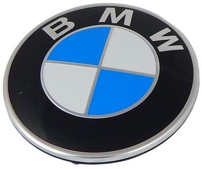 BMW EMBLEMA INSIGNIA LOGOTIPO AL CAPO TAPA DE MALETERO 82MM