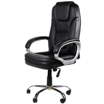 Fotel biurowy obrotowy Artnico Iris czarny