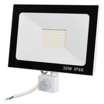 Lampa Naświetlacz LED 30W Z CZUJNIK RUCHU PREMIUM