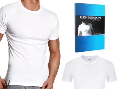 Koszulka T-Shirt K1 Henderson BASIC biały L