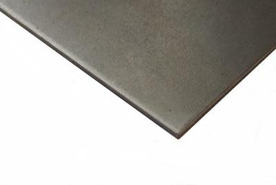 2 mm blacha stalowa DC01 czarna 1000x400x2 mm Z/W