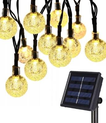 30 LED  огни солнечное садовое водонепроницаемые 6М