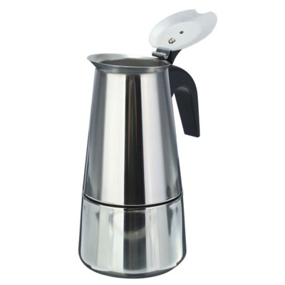 Kawiarka stalowa na 2 filiżanki zaparzacz kawy