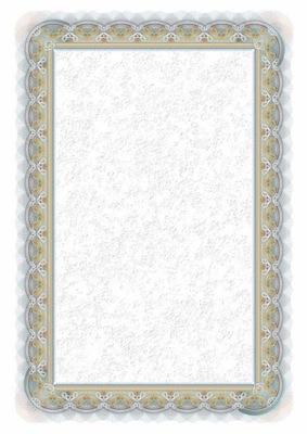 Dyplom srebro A4/25 170g Argo