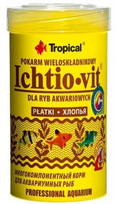 Tropical ICHTIO-VIT 100ml корм Для Рыб