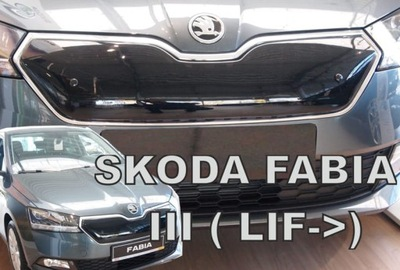 PROTECCIÓN DE INVIERNO DEL RADIADOR SKODA FABIA 3 RESTYLING 2018-