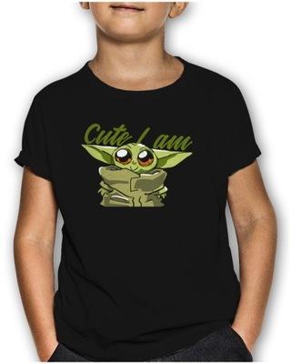 Gruba Koszulka Star Wars Baby Yoda Mandalorian 146