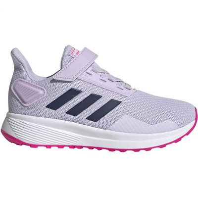 Fioletowe Tekstylne Buty Dla dzieci Adidas r.30