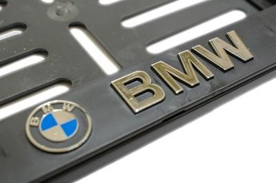 РАМКА REJESTRACYJNA MOTOCYKLOWA MOTOROWA BMW 3D