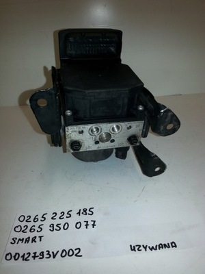 НАСОС ABS SMART FORTWO 0265225185 0265950077
