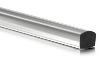 Próg akrylowy 10x10 mm do kabiny prysznicowej