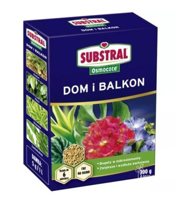 Nawóz Osmocote Dom i Balkon 300g do kwiatów
