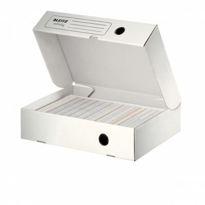 Pudło archiwizacyjne Leitz Infinity 80mm biały