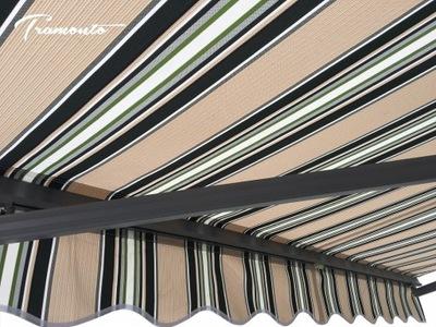 маркиза терраса Антрацит 500x300 Без-зеленый PREM