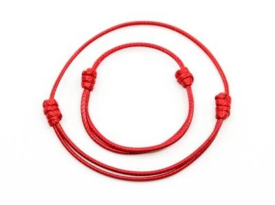 Zestaw 2x bransoletka KABAŁA czerwona mama dziecko
