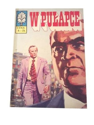 KAPITAN ŻBIK W PUŁAPCE wyd. 1 1974 r.