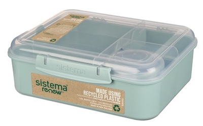 Sistema lunchbox bento 1650ml renew