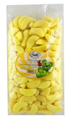 Драже Пены Bananki Бананы 1 кг Gusto