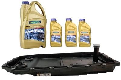 BMW ZF 6HP26 SUBSTITUTO ACEITES MISKA,OLEJ , TORNILLOS