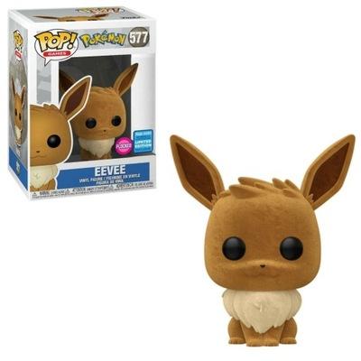 Funko Pop! Pokemon Flocked Eevee Exclusive