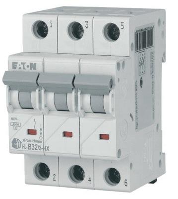 Wyłącznik nadprądowy 3P B 32A 6kA AC HN-B32/3