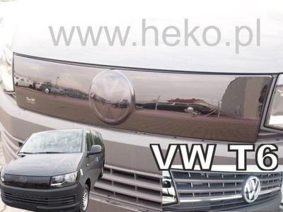 ЗАЩИТА ЗИМНЯЯ VW TRANSPORTER T6 2015- РЕШЕТКА РАДИАТОРА ЧЕРНЫЙ