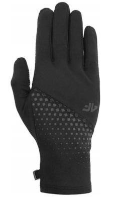 4F Rękawiczki do Biegania Dotykowe REU006 > M