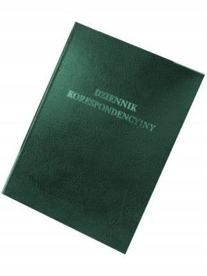 Dziennik korespondencyjny Barbara A4 96k zielony