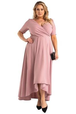Elegancka i stylowa suknia dla puszystej na wesele