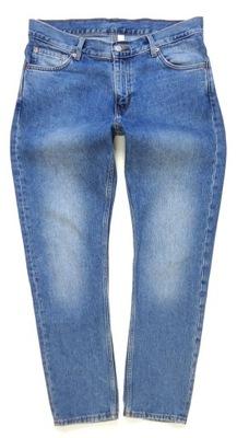 WEEKDAY spodnie jeans SLIM 42/44