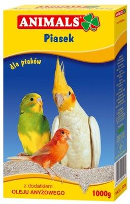 ANIMALS Piasek dla ptaków - podłoże do klatki 1kg
