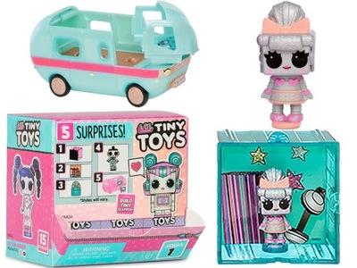 LOL Drobné Hračky BÁBIKA Prekvapenie prípojného vozidla Mini-56580