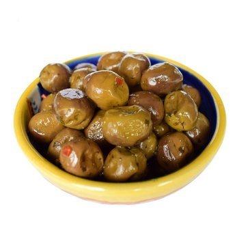Оливки зеленые маринованные, Nocellara, 500? итальянские