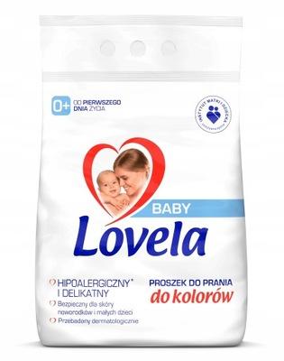 LOVELA BABY PROSZEK DO PRANIA KOLOR 4,1KG 0+