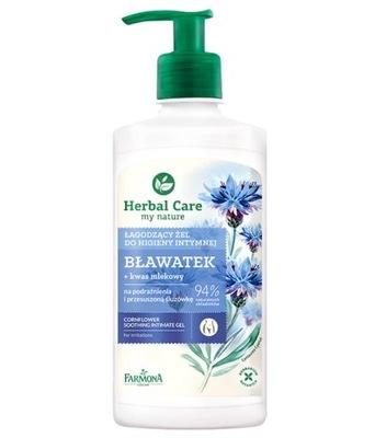 Żel do Higieny Intymnej Łagodzący Herbal Care