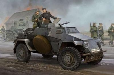 трейлер бронированный SD.KFZ 221 Panzerspahwagen