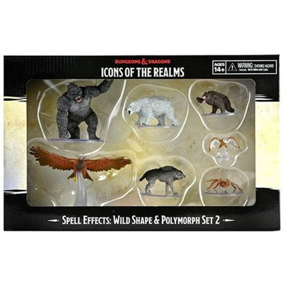 DnD Icons of Realms Wild Shape and Polymorph Set 2