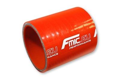 Łącznik silikonowy prosty 60mm Pomarańczowy 10 cm