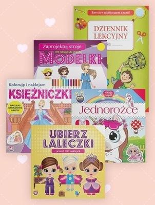 Pakiet dziecięcy UBIERZ LALECZKI i 4 inne książki