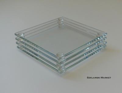 Holder do mieszania lakierów, szklany opti 7x7
