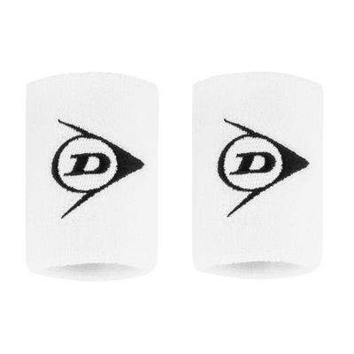 Frotki na rękę Dunlop Wristband Short White 2szt