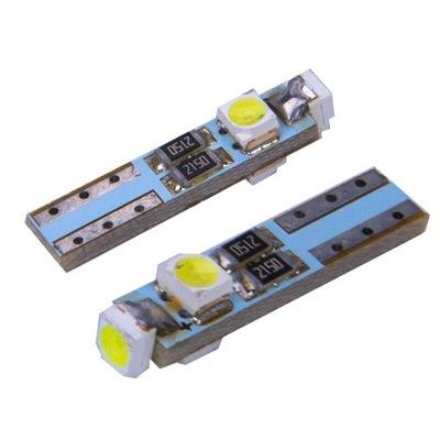 Żarówka LED W1,2W T5 6000K W5W