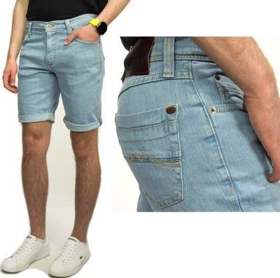 Mustang Washington Shorts 210 spodenki jeans W34