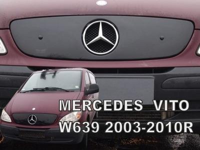 PROTECCIÓN REJILLAS REJILLA DE RADIADOR MERCEDES VIANO W639 2003-2010