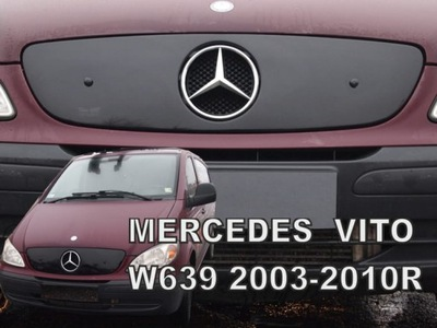 PROTECCIÓN DEL RADIADOR MERCEDES VITO II W639 2003-2010