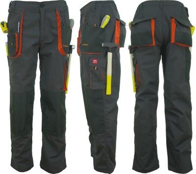 Spodnie Robocze Pas Classic Mocne Potrójne Szwy