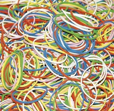 Gumki recepturki DONAU 1000g mix kolorów mocne