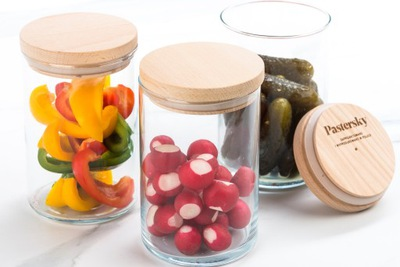 5x Zestaw Pojemników do Przechowywania Żywności